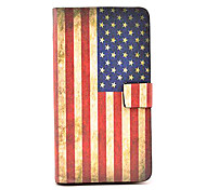 Retro US National Flag Pattern Leather Full Body Case with Stand for Samsung Galaxy Note3 N9000