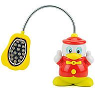 Plastique Forme de canard de dessin animé LED veilleuse (couleur aléatoire)