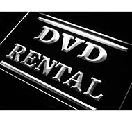 DVD-Verleih-Shop Shop-Neonlicht-Zeichen