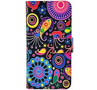 patrón de colores de todo el cuerpo de cuero del caso del tpu para el iphone 5/5s