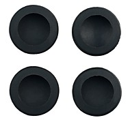 Silicone Key Protector Thumb Grips Joystick Caps for PS4 Xbox One Controller - Black (4 PCS)