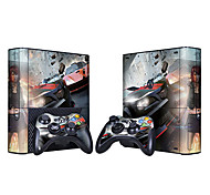 XBOX360 Slim Console Sticker con 2pcs controller Sticker
