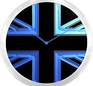 nc0985 UK United Kingdom Flag Neon Sign LED Wall Clock