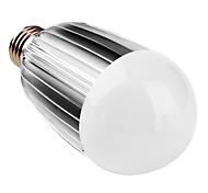 E26/E27 LED Kugelbirnen B 9 High Power LED 900 lm Natürliches Weiß AC 85-265 V