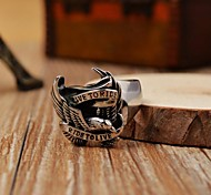 Men's Cast Metal  Falcon Stainless Steel Ring