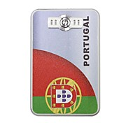 A Copa do Mundo portátil 6000mAh Power Bank com 4 in1 Connector (5V 1A, 5V 2A) (Portugal)