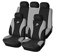 9 PCS Set Car Seat Covers universale Fit Accessori Auto