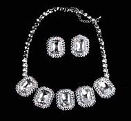 LOTINB ™ женщин Роскошные ювелирные изделия Чрезвычайный комплект ювелирных изделий