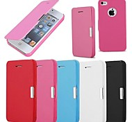Frosted Design Magnetic Buckle Full Body Case for iPhone 4/4S (Assorted Colors)