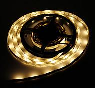 Los 5M 36W 150x5050SMD luz blanca cálida Lámpara LED Strip (12V DC)