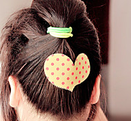 Bowknot Sweet Heart Five-pointed Star Hair Styling