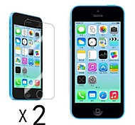 [2-Pack] Ultra Clear LCD Screen Guard Protector per iPhone 5C