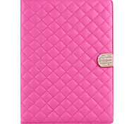 Diamond Mesh with Diamond Clasp Design PU Leather Full Body Case with Stand for iPad Air (Assorted Colors)