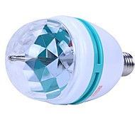 3W E27 RGB Bunte Dreh 3 LED Strahler Leuchte Lampe