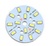 MaiTech 7W 705lm 14-SMD 5730 LED White Light Bulb Aluminiumplatte