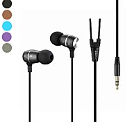 JBM-100 3.5mm Hi-Fi In-ear Earphones for iPhone  And Others 3.5mm Device(Assorted Colors)