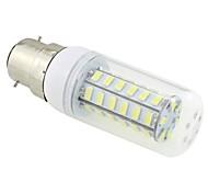 7W B22 LED a pannocchia T 48 SMD 5730 600 lm Luce fredda AC 220-240 V