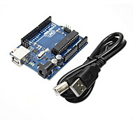 DIY Funduino UNO R3 Development Board Microcontroller  for (For Arduino) (with USB Cable)