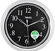 "Timess™ 11""H  Brief Style Titanium Silver Texture Mute square Wall Clock"