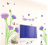 oeillet sticker mural motif (1pcs)