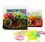 Z&X®  Loom Bands Noctilucence(Rubber Band 200PCS、Recycle Crochet Hook、Recycle S Hook、Instructions)