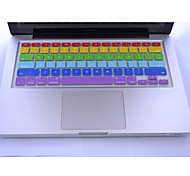 "Coosbo® Colorful Silicone Keyboard Cover Skin for 13.3"",15.4"",17"" Macbook Air Pro/Retina"