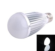 White Light LED Bulb  (AC 85~265V)E27 9W