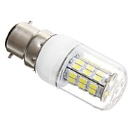 8W B22 LED Corn Lights T 42 SMD 5730 1200 lm Cool White AC 100-240 V