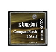 Kingston 16GB Ultimate 600x CompactFlash Memory Card CF/16GB-U3