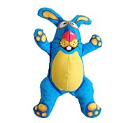 Pet's Dog Cat Buck Teeth Rabbit Toy Blue Yellow