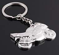 The Motorcycle Shape Metal Silver Keychain Toys