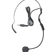 microfono wireless testa dritta taglio filo