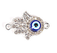 Alloy Hand Eye DIY Charms Pendants for Bracelet & Necklace