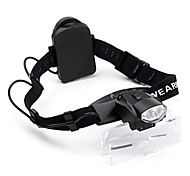 ZW-9892C Adjustable 2-LED Illuminating Maintenance Magnifier (1.0x -6.0x)