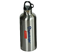 HYDRAKNIGHT 450ML Silver Stainless Warm Keeping Cycling Water Bottle