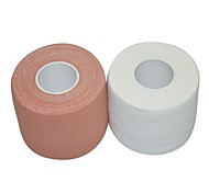 Non Stretch Support Tape Sports Support Protective / Breathable Exercise & Fitness / Team Sports White / Beige