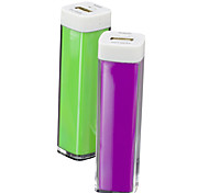 Vodasion® 2600mAh Lip Gloss Power Bank True Capacity External Battery for Mobile Devices