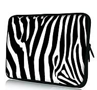 Elonno Moda Zebra ordenador portátil del neopreno caja de la manga de la cubierta bolsa bolsa para 13'' MacBook Pro / Air Dell HP Acer