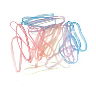 Loom Bands Big Size Multicolor Rubber Band G For Kids (25 pcs)