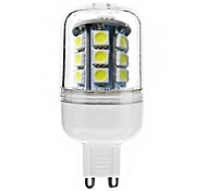 JUXIANG Lâmpada Espiga Decorativa G9 4 W 300 LM 6000-6500 K Branco Frio 27 SMD 5050 AC 220-240 V Encaixe Embutido