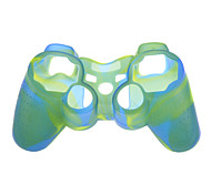 2pcs Camouflage Protective Silicone Skin Case for PS3 Controller