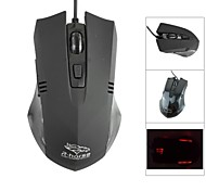 R.horse FC-5150 USB 800 / 1600 / 2400 / 3200dpi Wired Optical Gaming Mouse