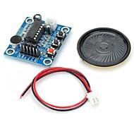 ISD1820 Audio Sound Recording Module w/ Microphone / Speaker - Deep Blue