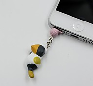 Colored Cat Catch The Bulb Shaped 3.5mm Earphone Jack Anti-dust Plug
