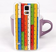 Beautiful Ruler Pattern PC Back Case for Samsung S5/I9600