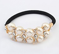 Fashion Simple Pearl Hair Ties