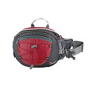 MOUNTAINTOP 8L Terylene Red Outdoor Enhanced Breathability Cycling Waist Bag Chest Bag