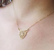 Shixin® Fshion Leopard Hand Shape Pendent Necklace(1 Pc)