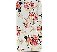 Pfingstrose Blumenmuster Hard Case für iPhone 4 / 4s