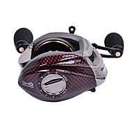 Carrete de la pesca Carretes de lanzamiento 6.3:1 13 Rodamientos de bolas Zurdo Pesca de Mar - TS1200 TSURINOYA